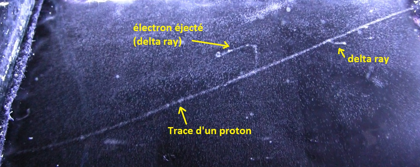 delta ray cloud chamber