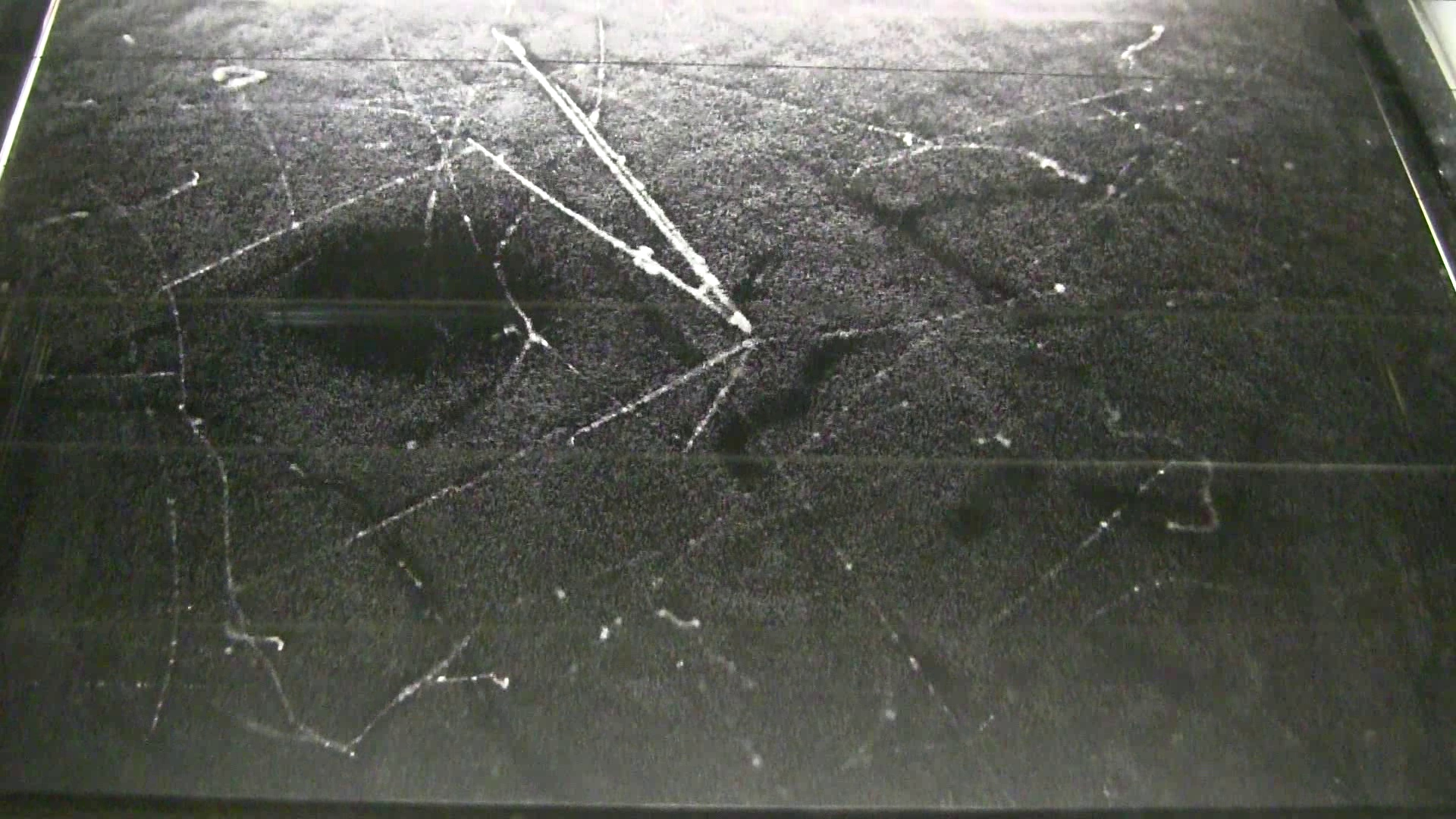 Example of star in cloud chamber